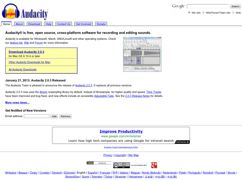 audacity-sourceforge-net