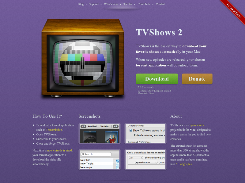 tvshows-sourceforge-net