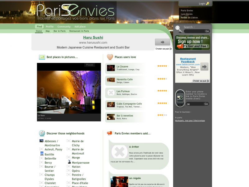 parisenvies-com