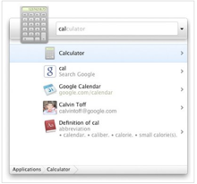 google quick search box pour mac osx