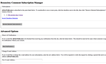 wp subscription manager before