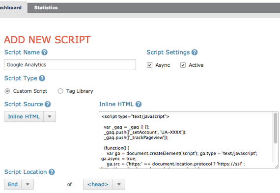 Gestion widgets javascript 2